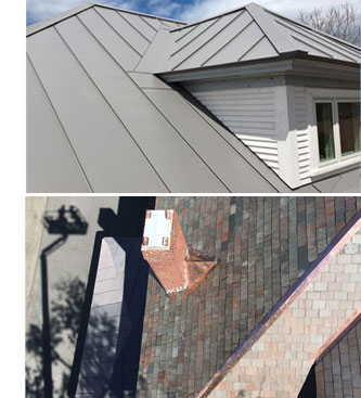 Watershed works with all types of roofing materials, from slate to steel and from copper to cedar.